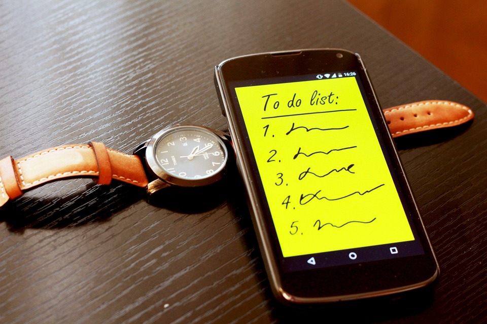 Why You Should Prepare Your To-Do Lists the Night Before