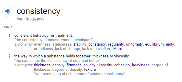 Consistency: The Key Ingredient to Success